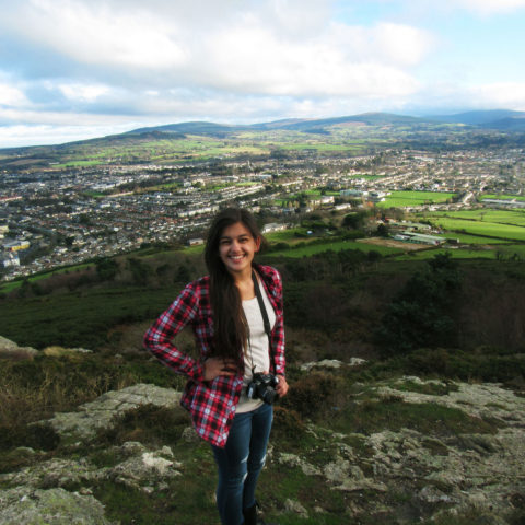 Tessa Thompson studies abroad in Ireland.